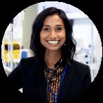 Portrait of Doctor Neera Jeyabalan