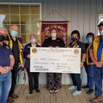 Lions Club of Peterborough makes a donation