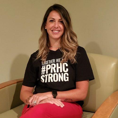 PRHC Intensive Care Unit nurse Emma Harris