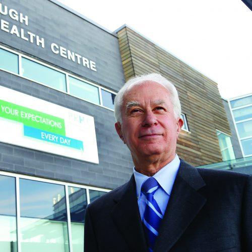 PRHC President & CEO, Dr. Peter McLaughlin